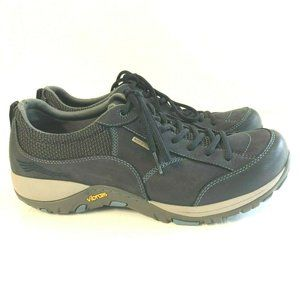 Dansko Paisley Blue Nubuck Waterproof Hiking Shoes